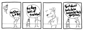 Dog Problem by moosimus