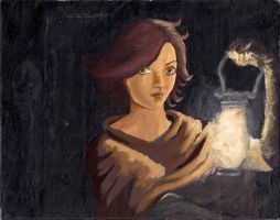 Lucy Egg Tempera Style by Azterion