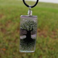 Lavender Skies Glass ToL 2 by FusedElegance