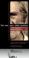 New Poor White Question Invite by hippiedesigner