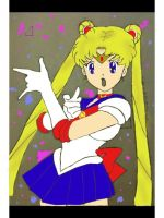 Sailor Moon colored by shelbaloo3