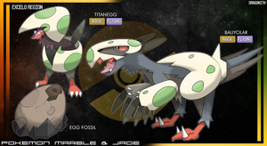 Excelo Region - Egg Fossil by Dragonith