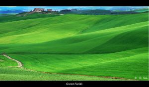 Green Fields by Marcello-Paoli