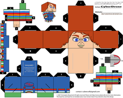 Cubee - Chucky by CyberDrone