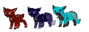 Cat Adopts-Set Price by Kozafire