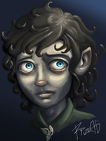 Frodo Baggins by MrRizeAG