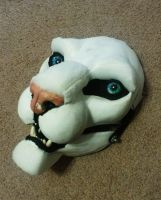 Beast Creation - Entertainer's Mask in Progress by Beastworks
