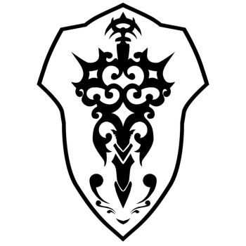 Knight Shield Emblem by The-Silver-Crescent