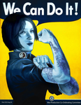 Cortana The Riveter by Unttin7