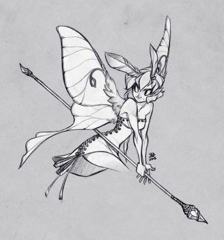 Sketch Commission: Gilaghar by sambees