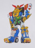ZEO MEGAZORD revisited: the new combo by kishiaku