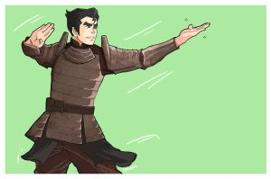 Commission: Officer Bolin by cola-san