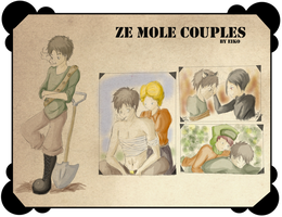 Ze Mole Couples by eikojonevans