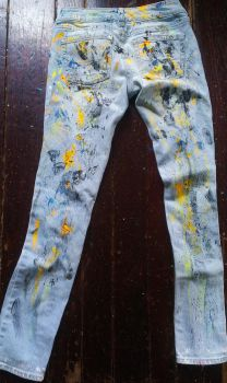 Paint Pants by MsWritten