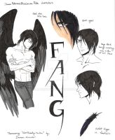 (Maximum Ride characters) Fang by MaximWolf