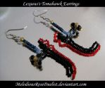 Lexaeus's Tomahawk Earrings by MelodiousRoseDuelist