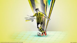 366. Robert Lewandowski by RGB7