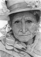 Bolivian Woman by Elithenia