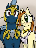 Caroline and Pierson by TheDracoJayProduct