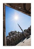 Sultan Ahmed Mosque 3 by tyt2000