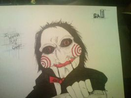 jigsaw puppet by TattooJamie
