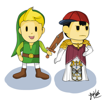 Save the princess (Ness and Lucas) by YepVans