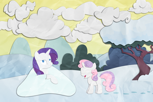 Eight Stormy Snow Clouds by Narflarg