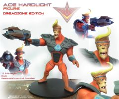 Ace Hardlight - Figure by Lurking-Leanne