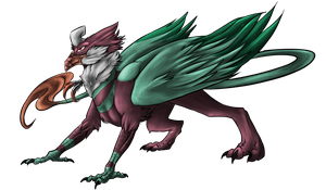 .:Commission:..:Penelope:. by Dark-Spine-Dragon