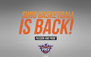 Phoenix Suns Wallpaper by IshaanMishra
