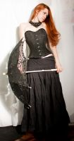 Black Corset Stock 04 by GillianStock
