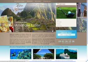 Travel agency site by Giboo