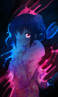 Chuunibyou Vision - Rikka Smudge Tag by TheIzaya
