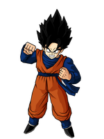 Mystic Kid Goten by SpongeBoss