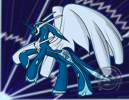 Dialga - War of Gods by ErinKarsath