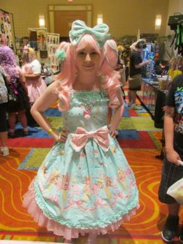 Mint-Pink Lolita Ausa2013 by CrownPrincessLaya