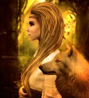 .: Wolf Spirit :. by NatiatVII