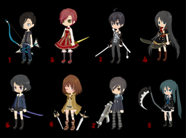 FREE weapon adopts -CLOSED- by selfy-adopts
