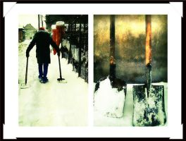 the man with  the shovels by horatziu1977