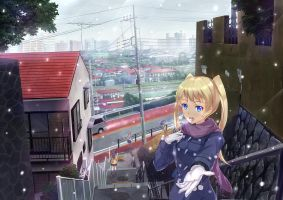 Going to school by PenName-Kazeno