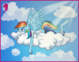 Up in the Air by BrownieComicWriter