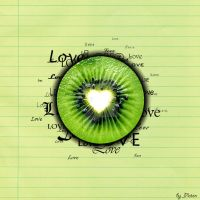 Kiwi love by AlexPlatonov