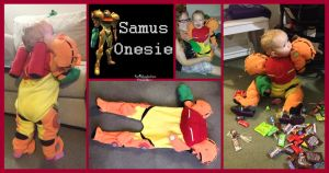 Samus Onesie version 1 by Kai45