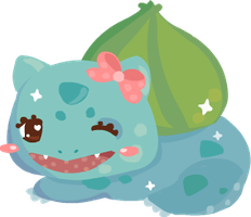 SPARKLEMON- Bulbasaur by steffne