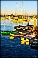 Morning in the Harbour 1 by Bartonbo