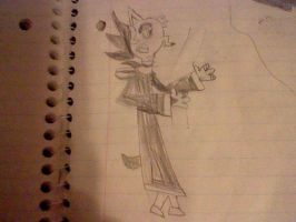 My drawing of Frollo by FroShaDar