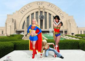 The New Hall of Justice by TheSnowman10