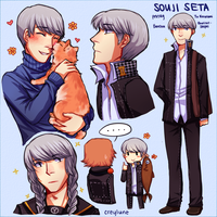 Souji Army by creylune