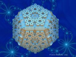 Snowflake 3D Bauble by jim88bro