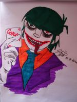 Joker Murdoc by ShaunElay